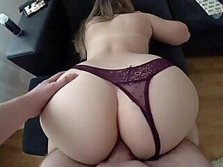 Sex with a niggardly ass, homemade, ass to mouth,
